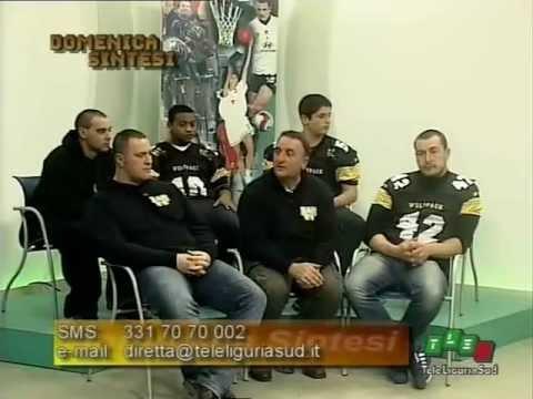 Wolfpack La Spezia su TeleLiguriaSud – feb. 2012 – PARTE 2di3