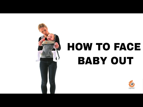 How to Face Baby Out | 360 Baby Carrier | Ergobaby