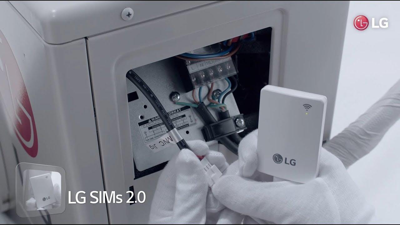 lg air conditioner smart inverter installation test running smart diagnosis [ 1280 x 720 Pixel ]