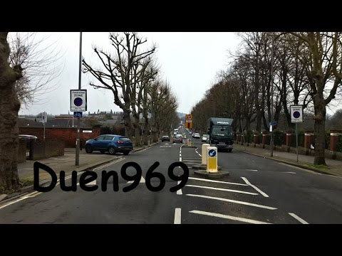 London Streets (562.) - Clapham - Colliers wood - Morden - St. Helier