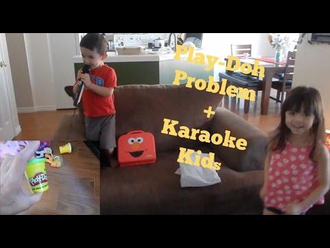 Play-Doh Problem + Karaoke Kids | Filipina in Canada Vlog |