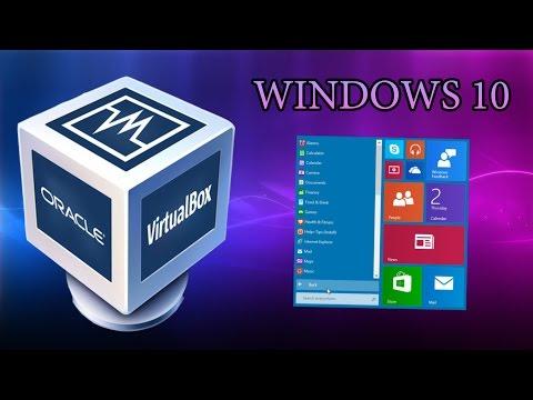 Как установить виндовс на виртуальную машину virtualbox
