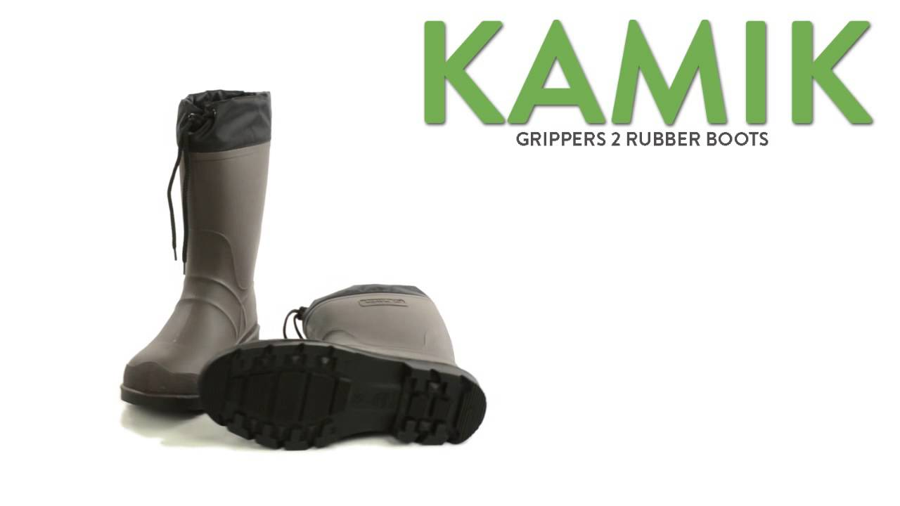 2e80a668640 Kamik Grippers 2 Rubber Boots - Waterproof, Insulated (For Men)