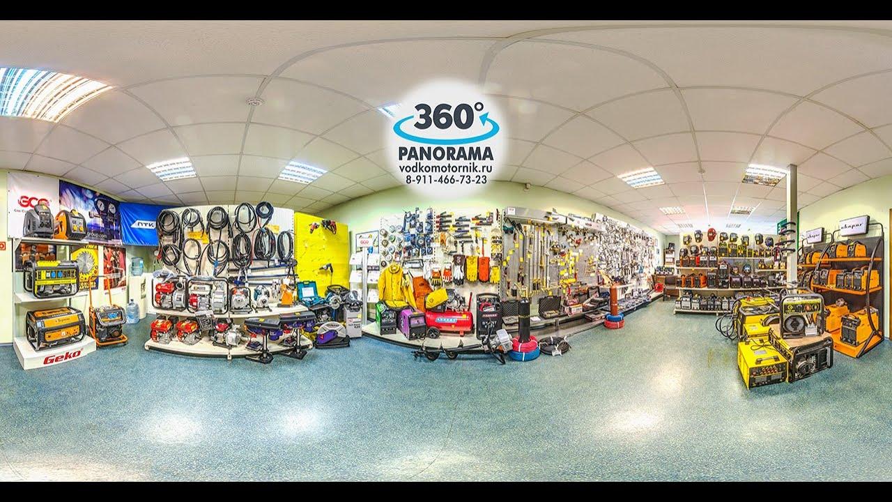 Магазин сварочного оборудования - 360° панорамное видео в Калининграде