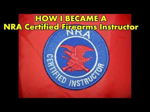 How I Became A NRA Certified Firearms Instructor