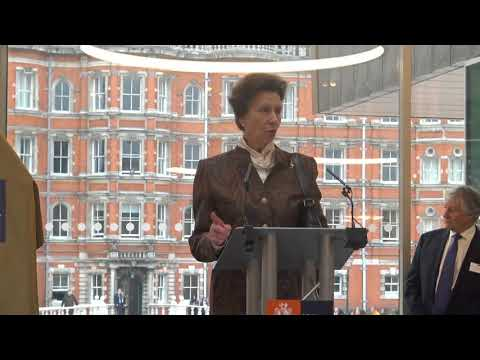 HRH The Princess Royal opens Emily Wilding Davison Building (Extended)