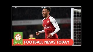 I will only get better for Arsenal, warns Aubameyang