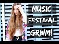 Music Festival - Hair, Makeup and Outfit! Get Ready With Me
