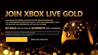 How To Get (Free) Xbox Live Gold (Xbox One)