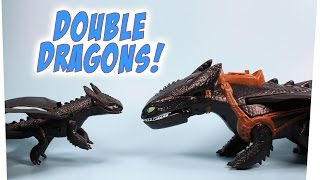 Dragons Defenders of Berk Giant Fire Breathing & Action Dragon Toothless