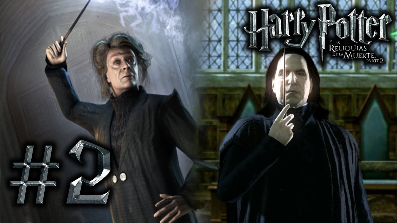 Harry Potter Y Las Reliquias De La Muerte Parte 2 Ps3 2 Mcgonagall Vs Snape Youtube