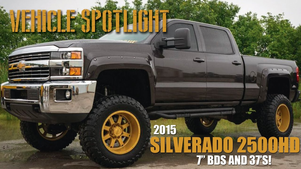 Spotlight 2015 Silverado 2500hd 6 Quot Bds Lift 20x12 S