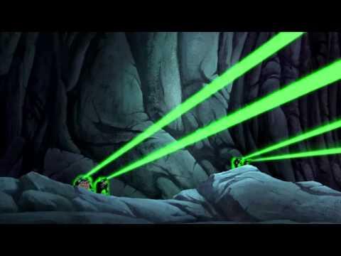 Green Lantern Corps vs The Legion of the Third Eye
