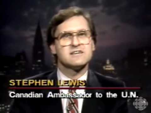 Stephen Lewis remembers Tommy Douglas