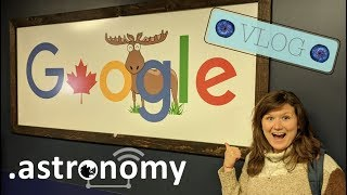 .Astronomy Conference Toronto Vlog | What bits of astronomy aren't talked about in the media?