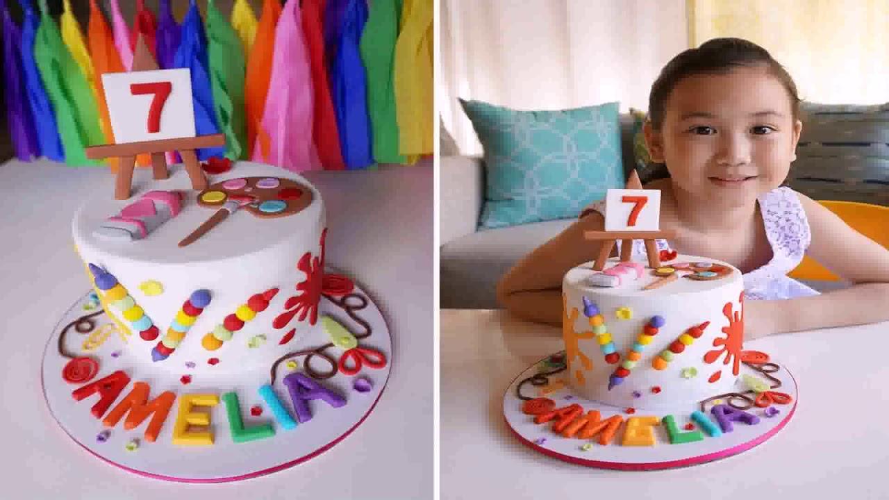 7th Birthday Decoration Ideas For Girl