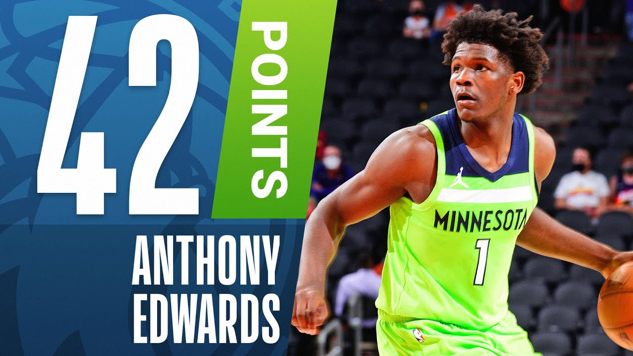 Edwards Goes Off For Career High 42 Pts Youtube