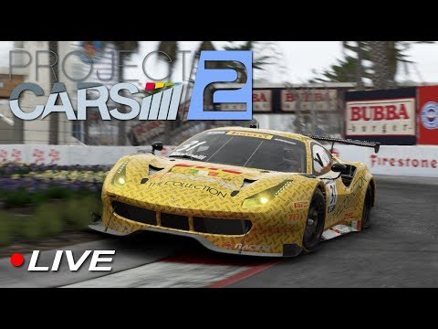 Project Cars 2 AOR GT3 Elite League Season 9 Round 6 - Long Beach | LIVE