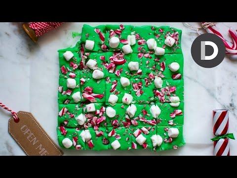How to make... Candy Cane Christmas Fudge!