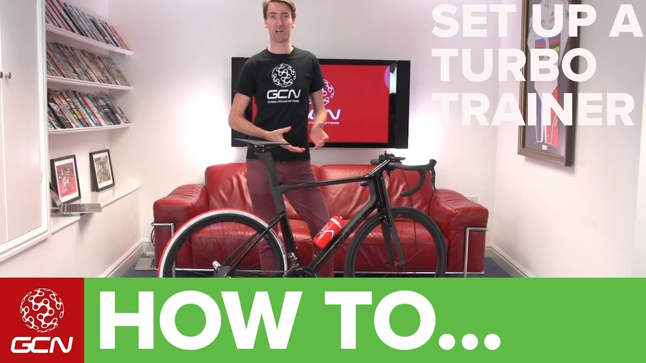 How To Set Up A Turbo Trainer Youtube