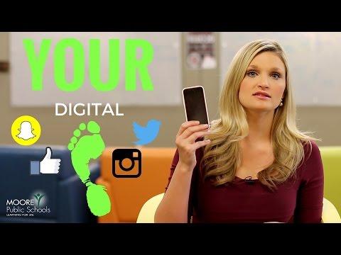 #ThinkTwice - Your Digital Footprint Matters