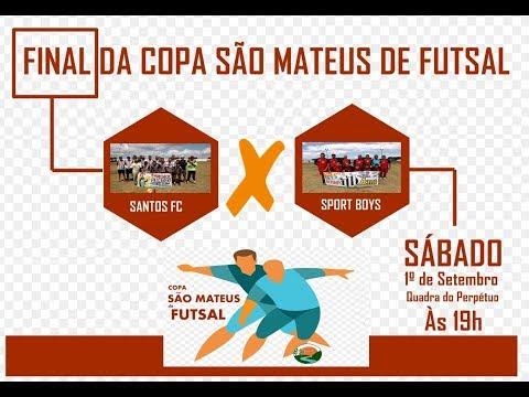 TV CÓRREGO - Santos X Sport Boys na Copa São Mateus