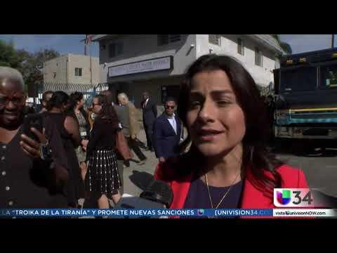 Congresswoman Barragán On Univision To Speak On The Sativa Water District