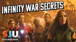 More Avengers Infinity War Secrets Revealed (SPOILERS)! - SJU
