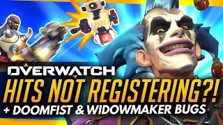 Overwatch | Hits Not Registering?! Doomfist & Widowmaker Bugs