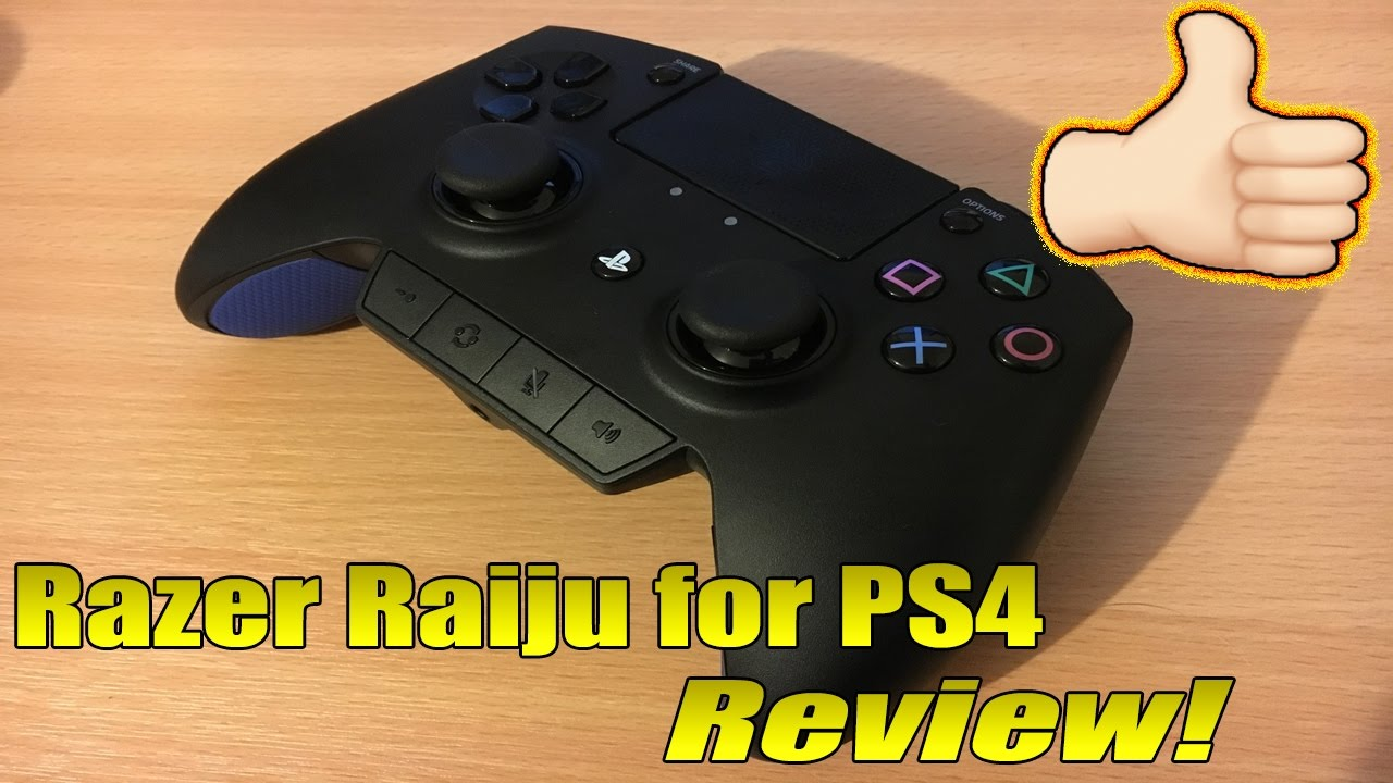 Razer Raiju Ps4 Pro Controller Review Triggers Buttons Thumbstick Sensitivity Weight Youtube %100 indirim 1.199,00 tl 0,00 tl (0,00 tl/adet). razer raiju ps4 pro controller review triggers buttons thumbstick sensitivity weight