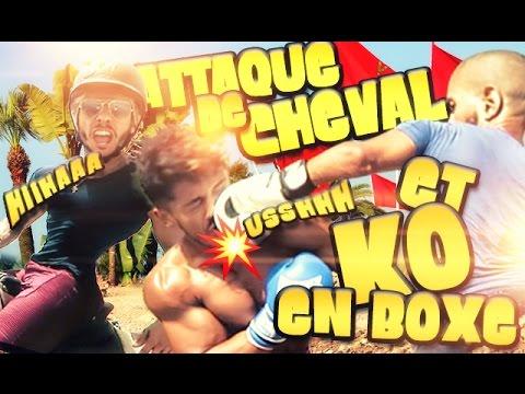 Alex & PJ au MAROC - K.O. BOXE et CHEVAL Coaching Village Vlog #2