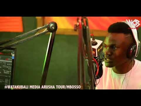 Mbosso - Watakubali Media tour ( Radio5 Arusha )