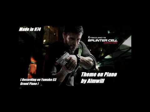 Splinter Cell Conviction - Theme Piano (HD audio)