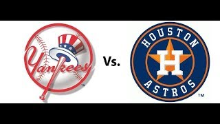 WATCH THE NEW YORK YANKEES VS HOUSTON ASTROS ALCS GAME 3 (NO GAME FEED)