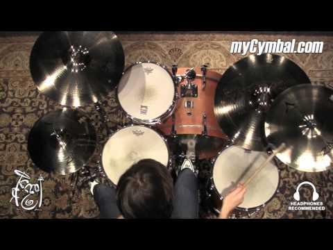 "Zildjian A Custom Cymbal Box Set + FREE 18"" Crash (A20579-11-1012816LL)"