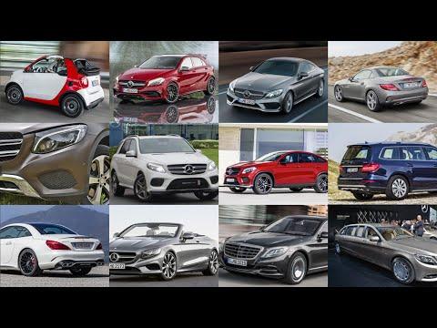 Все новинки Mercedes за 2015 год