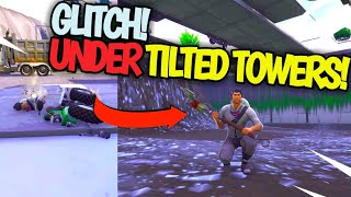 Fortnite NEW Glitch! *HOW TO* Get Under TILTED TOWERS in SEASON 7! Fortnite Glithches! For PS4/PC