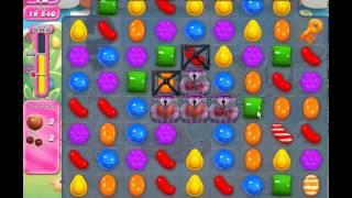 Candy Crush Saga level 743 (3 star, No boosters)