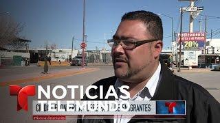 Puerto Palomas: un pueblo fantasma en medio de la frontera | Noticiero | Noticias Telemundo