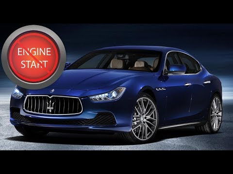 Maserati Open And Start A Push Button Start Model With A