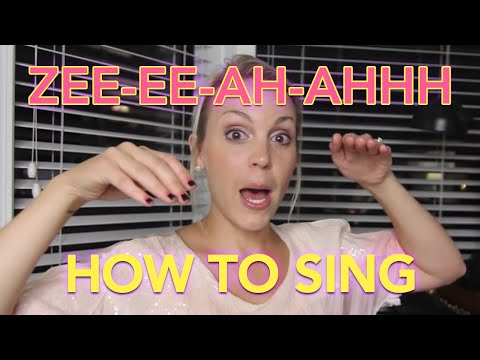 How to Sing: 3 Minute Warm up Voice Lesson