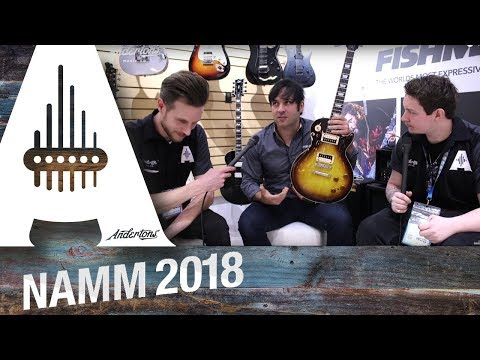 Fishman - Fluence Pickups - NAMM 2018