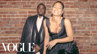 Sean Combs and Cassie Get Ready for the Met Gala | Met Gala 2017