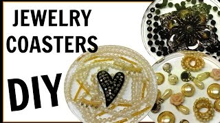 Resin Jewelry Coasters | DIY Project | Another Coaster Friday | Craft Klatch | How To