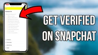How To Get Verified On Snapchat in 2019 Get A Verified Snapchat Account