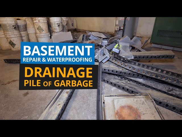 Basement Repair and Waterproofing | Buy the Right System