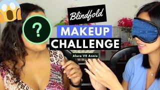 Blindfold Makeup Challenge Part 1 VLOG