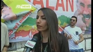 MANIFESTAZIONE DELLA COMUNITA' CURDA A SAN GEREMIA