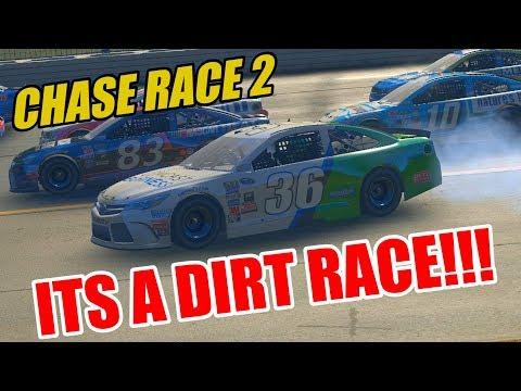 LITERAL DIRT PHYSICS! [LOUDON] NASCAR Heat Evolution Career Mode [S2 Race #28]