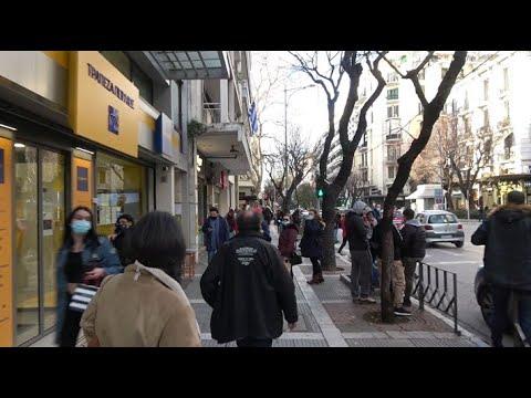 Thessaloniki city Greece - walking tour 25/01/2021